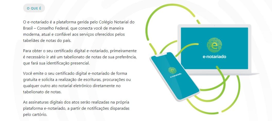 site e-notariado